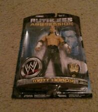 WWE RUTHLESS AGGRESSION Matt Hardy Action Figures Hardy Boys Rare HTF