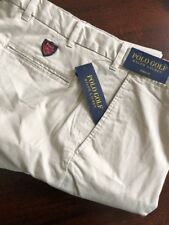 Mens Ralph Lauren Basic Sand Polo Golf Pants Links Fit 36x32 NWT