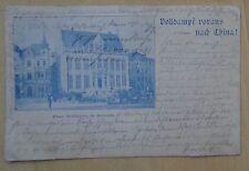 a0741 BREMEN - Haus Schütting - Volldampf voraus nach China ! 1900 *ansehen*