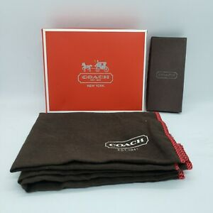 Coach Accessories Dust Bag 2 Boxes Lot ( Wallet box and Ipod case box?)