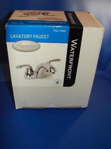 Waterfront Premier Lavatory Faucet Without Pop Up 126959 Chrome Finish BRAND NEW