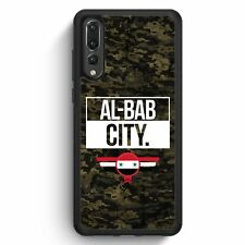Huawei P20 Pro SILIKON Hülle Al Bab City Camouflage Syrien Motiv Design Syrisch