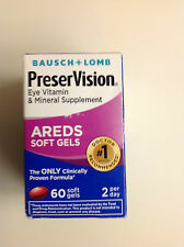 PreserVision Eye Vitamin and Mineral Supplement, with AREDS,  60ct