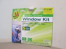 Lot of 2 Boxes for Sales - Duck Brand Indoor 5-Window Shrink Film Kit