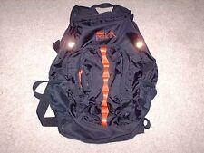 Coleman Peak 1 Backpack Black & Red Outdoors Camping Hiking