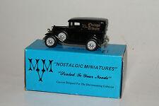 MVM NOSTALGIC MINIATURES 1931 FORD MODEL A DELIVERY, CHICAGO TRIBUNE