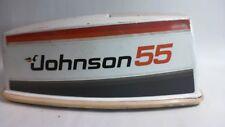 Johnson Copertura del motore per 55HP-JOHNSON-CAVALLUCCIO MARINO-BIANCO-USATO (#15H42)