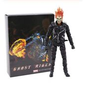 Marvel Ghost Rider Johnny Blaze Action Figure Collectible Model Toys Doll Gift