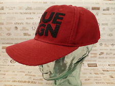 True Religion Casquette De Baseball Trucker Style Hat Red Mesh & coton Caps BNWT RRP £ 55