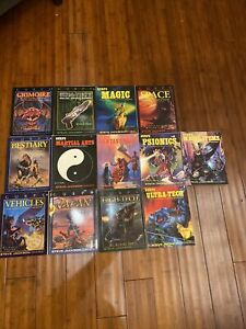 GURPS Collection Lot Of 13 Steve Jackson Role Playing Games Books