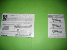 DUTCH WW I / II PLANES DECALS SETS 1/72 SCALE - KOMBO SET