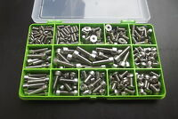 Bike Bolt Kit. Assorted A2-70 Stainless Steel Bolts & Screws for Bikes