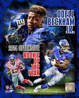 """ODELL BECKHAM JR """"2014 Rookie of the year""""New York Giants LICENSED 8x10 photo"""