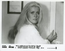 CATHERINE DENEUVE  LE SAUVAGE 1975 VINTAGE PHOTO ORIGINAL #3