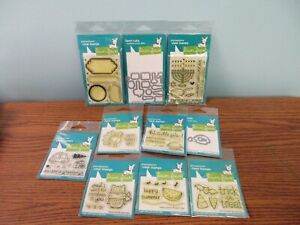 LAWN FAWN ACRYLIC STAMPS AND CRAFT DIES