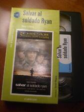 vhs Salvar al soldado Ryan