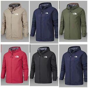 Womens N0RTH FACE Waterproof Outdoor Hooded Hoodies Full Zip Jacket Rain Coat UK