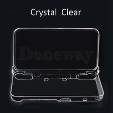 Nintendo 2ds XL 2017 Crystal Clear Hard Case Shell Skin Cover