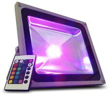 FARO FARETTO LED COB RGB 10W 20W 30W 50W 100W LUCE MULTICOLORE ESTERNO IMPERMEAB