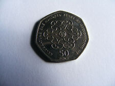 Girl  Guiding  50  pence  One Hundred Years Of Guiding  (Not Pressed  Correctly)