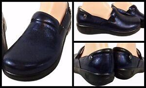 ALEGRIA  Keli Comfort Leather Clog Dusk Size 39 NEW IN BOX