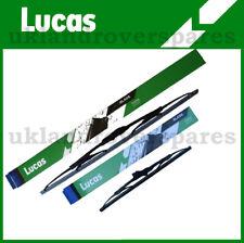 FORD FIESTA MK 6 HATCHBACK FRONT WINDSCREEN WIPER BLADES 2002 - 2008  LUCAS