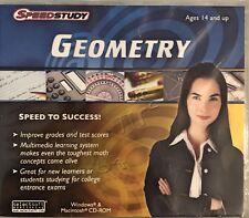 SpeedStudy Geometry Pc Brand New Win10 8 7 XP
