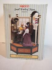 """Enesco Ye Olde Barber Shop Multi-Action/Light Music Box """"Sweet Adeline"""" in Box"""