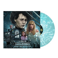 Danny Elfman ‎– Edward Scissorhands Exclusive Blue White Snow Splatter Vinyl LP