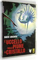 DVD L'UCCELLO DALLE PIUME DI CRISTALLO 1970 Horror Dario Argento Tony Musante