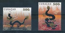 [CU073] Curacao 2012 Chinese New Year of the Dragon MNH # 73-74
