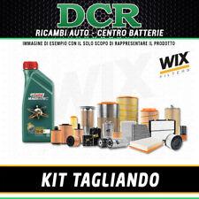 KIT TAGLIANDO FIAT GRANDE PUNTO 1.2 65CV 48KW DAL 10/2005 + OLIO CASTROL C3 5W40