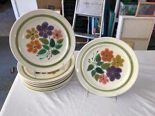 Franciscan Floral Pattern Dinner Plate
