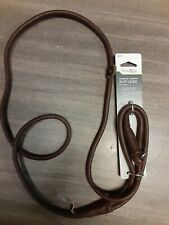 Good2Go Rolled Leather Dog Slip Lead, 5 ft.