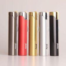 Cylinder Flint Wheel Windproof Jet Flame Cigarette Cigar Butane Gas Lighter