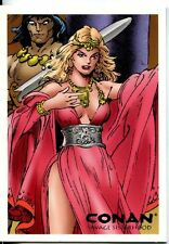 Conan Art Of The Hyborian Age Savage Sisterhood Chase Card S4