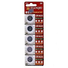50 TIANQIU CR1620 DL1620 ECR1620 BR1620 L08 3V Lithium Button Cell Watch Battery