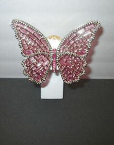 Bath & Body Works WALLFLOWER Diffuser Plug-in LIGHT-UP Pink BUTTERFLY Mariposa
