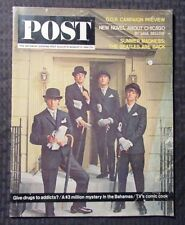 1964 POST Magazine Aug 8-15 VG- 3.5 BEATLES John Lennon