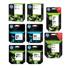 Original HP 301 / 301XL Black & Colour Ink Cartridges For DeskJet 1000 Printer