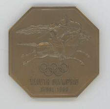 1988 SEOUL  OLYMPICS  MEDIA  MEDAL  WITH  ORIGINAL CASE