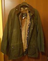VINTAGE- Barbour Beaufort giubbino uomo jacket  tg.c44 112cm + pelliccia lining