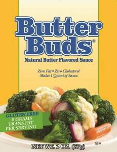 Butter Buds Sachet 57 g, Butter Flavoured Sauce & Sprinkle Granules, Fat Free