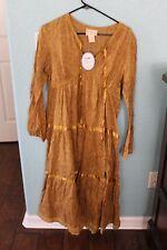 April Cornell Yellow Dress size XS NWT
