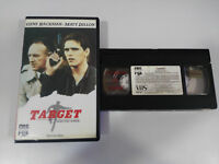 Target Gene Hackman Matt Dillon VHS Nastro Collezzionista Castellano