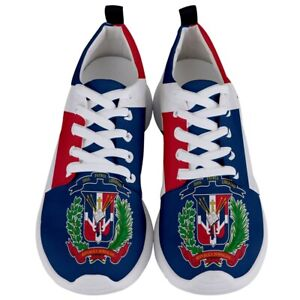 Dominican Republic Flag Coat of Arms flag Men's Athletic Sports Running Shoes