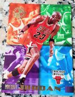 MICHAEL JORDAN 1995 Topps Stadium MEMBERS ONLY SP GOLD Bulls HOF 6x Champs $$