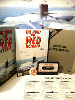 ZX SPECTRUM 48K CASSETTE GAME -- THE HUNT FOR RED OCTOBER --1985