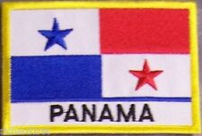 Embroidered International Patch National Flag of Panama NEW flag