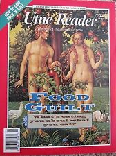 UTNE READER NOV./DEC 1993 BEST OF ALTERNATIVE PRESS FOOD GUILT SAVE ROCK N ROLL
